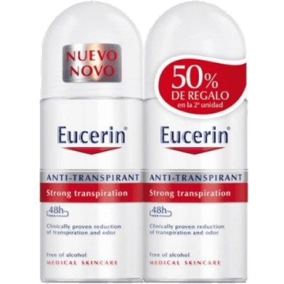 Eucerin Eucerin Deo Roll On Duplo Antitranspirante