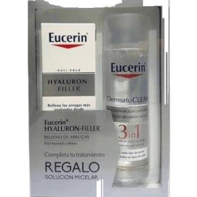 Eucerin Pack Hyaluron Filler Más Solución Micelar 3 En 1