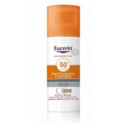Eucerin Eucerin Sun CC Creme Photoaging Control FPS 50+ Tono Medio
