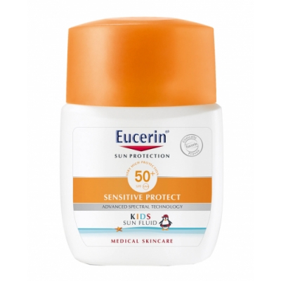 Eucerin Eucerin Sun Kids Fluid Sensitive Protect FPS 50+ Pocket Size