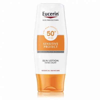 Eucerin Eucerin Sun Loción Extra Light Sensitive Protect FPS 50
