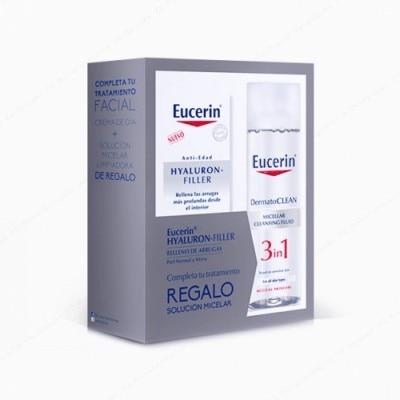 Eucerin Pack Eucerin Hyaluron Filler Día Más Agua Micelar