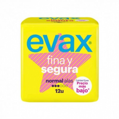 Evax Compresa Fina Y Segura Normal Alas