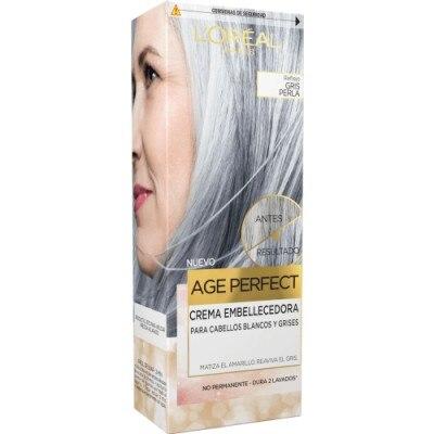 Excellence L´Oréal Age Perfect Crema Embellecedora Gris Perla