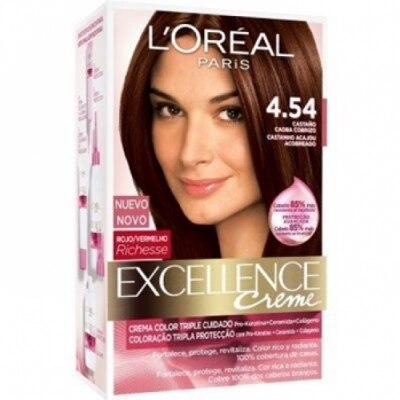 Excellence Tinte Excellence 4.54 Caoba Cobrizo