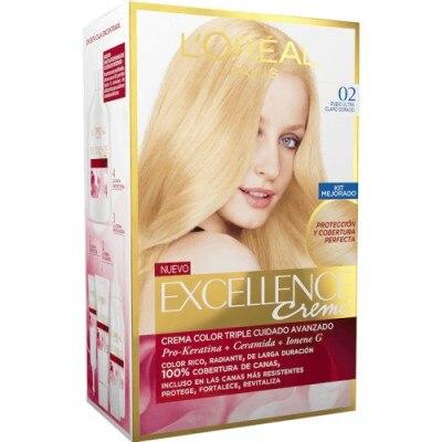 Excellence Excellence Tinte Blonde 02 Rubio Ultra Claro Dorado