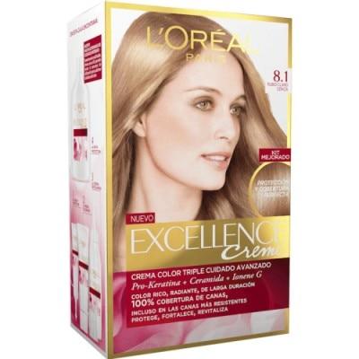 Excellence Tinte Excellence Creme 8.1 Rubio Claro Ceniza 0