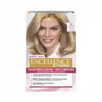 Excellence Tinte Excellence Creme 9.1 Rubio Muy Claro Ceniza