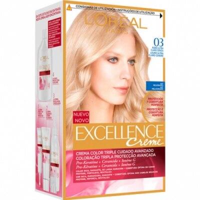Excellence Tinte Excellence N 3 Rubio Ultra Claro Ceniza