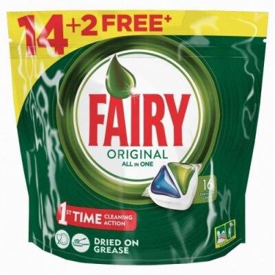 Fairy Detergente Lavavajillas All in One Original