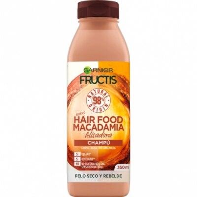 Fructis Fructis Champú Alisador Hair Food Macadamia - para cabello seco y rebelde