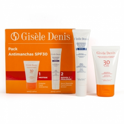 Gisele Denis Gisèle Denis Pack Antimanchas FPS30 WR y Sérum Reparador Postsolar