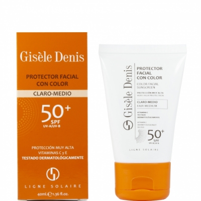 Gisele Denis Gisèle Denis Protector Facial con Color Claro Medio FPS50