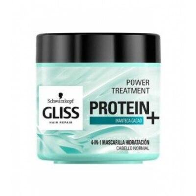 Gliss Gliss Power Mascarilla Proteinas Hidratante Manteca Cacao