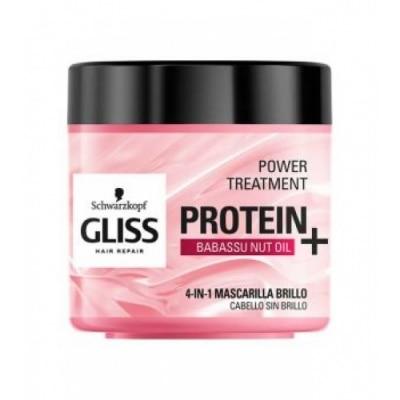 Gliss Gliss Power Tratamiento Proteinas Brillo con Aceite de Nuez