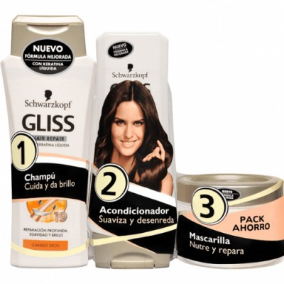 Gliss Pack Reparación Total