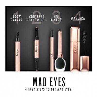 GUERLAIN Mad Eyes Intense Eyeliner - Delineador Líquido Intenso