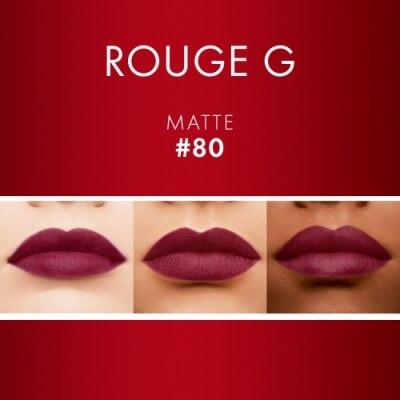 GUERLAIN Rouge G de Guerlain - Barras de Labios Satinadas & Matte