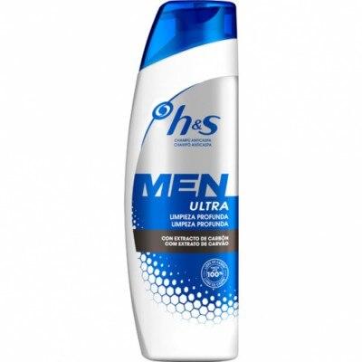 H & S H&S Men Ultra Limpieza Profunda Champú Anticaspa