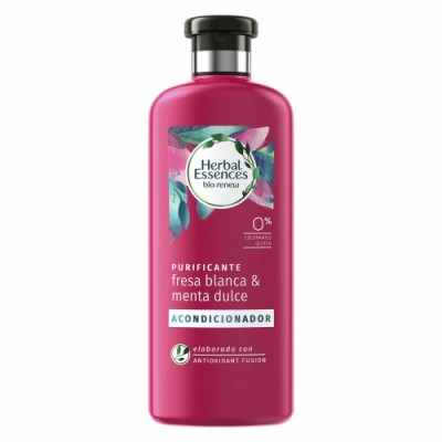 Herbal Essences Acondicionador Purificante Fresa Blanca Y Menta Dulce