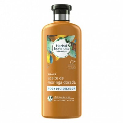 Herbal Essences Acondicionador Suave Aceite Moringa