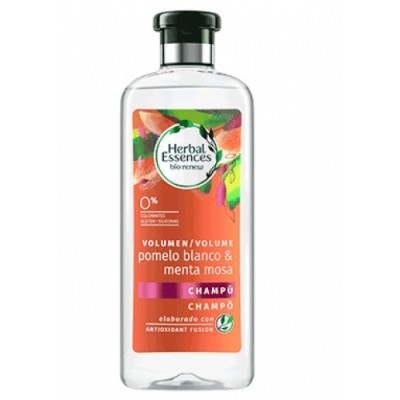 Herbal Essences Champú Volumen Pomelo Blanco Y Menta Mosa