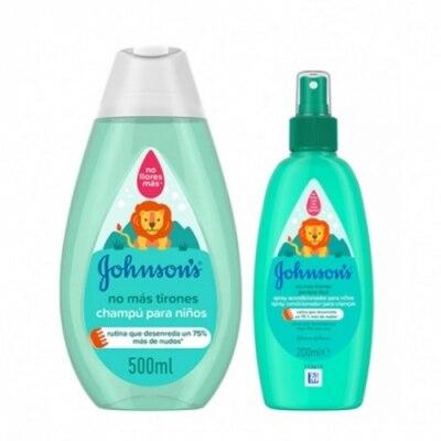 Johnson´s Johnson`s Champú No Más Tirones y Spray