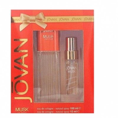 Jovan Musk Estuche Mujer Jovan Musk Colonia Vaporizador Más Perfumador