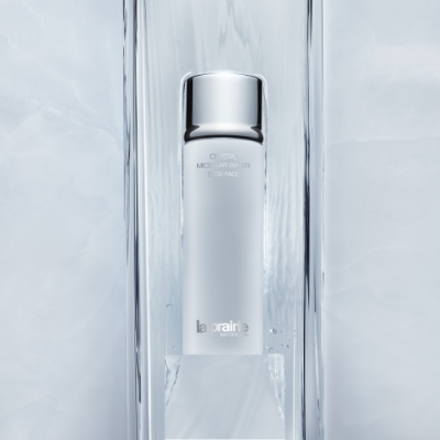 LA PRAIRIE Crystal Micellar Water Eyes Face Pure Swiss Glacier Cleansing Water