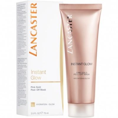 Lancaster Mascarilla Instant Glow Peel-Off Mask Pink Gold Hidratación y Luminosidad