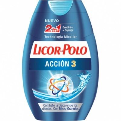 Licor Del Polo Dentífrico 2 En 1 Acción 3
