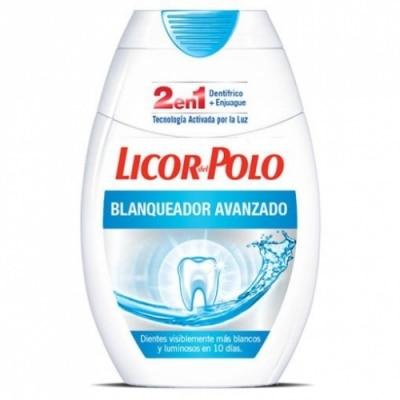 Licor Del Polo Pasta Dental 2 En1 Blanqueador Avanzado