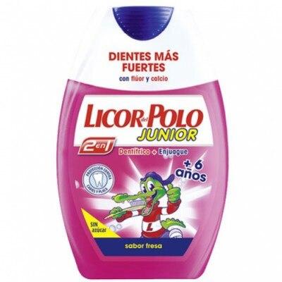 Licor Del Polo Pasta dental 2 en 1 Junior