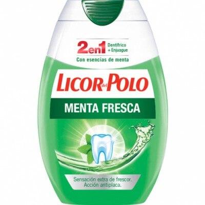 Licor Del Polo Pasta Dental 2 en 1 Menta Fresca