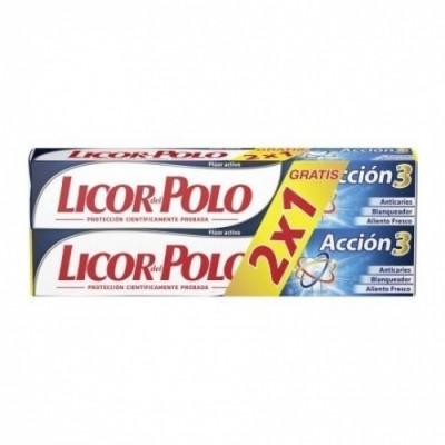 Licor Del Polo Duplo Pasta Dental Acción