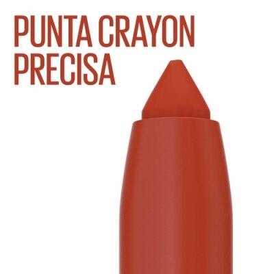 Maybelline Maybelline New York Pintalabios Mate Cremoso Larga Duración - SuperStay Ink Crayon