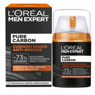 Men Expert L'Oréal Paris Men Expert Pure Carbon Cuidado Anti-granos