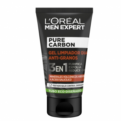 Men Expert L'Oréal Paris Men Expert Pure Carbon Gel Antigranos