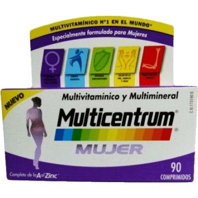 Multicentrum Multicentrum mujer 90 comprimidos