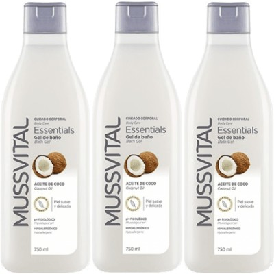 Mussvital Mussvital Pack 3 Geles Coco