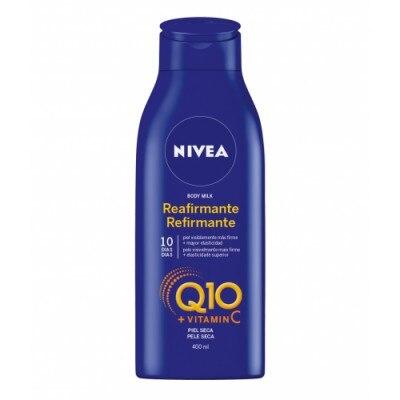 Nivea Body Lotion Reafirmante Q10 Piel Seca 400 Ml