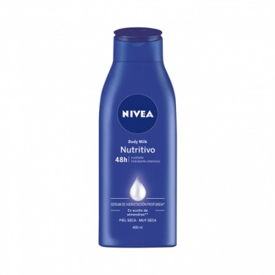 Nivea Body Milk Nutritivo 400 Ml