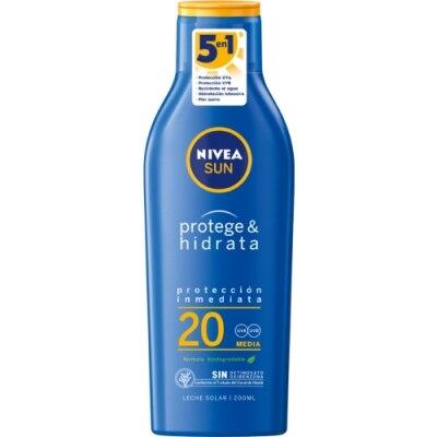 Nivea Bronceador Leche Solar Hidratante SPF20