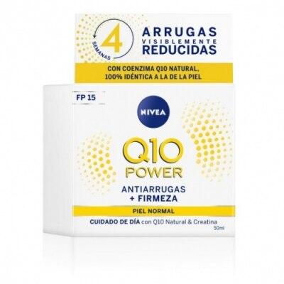 Nivea NIVEA Q10 Power Anti Arrugas + Firmeza Cuidado Día FP15