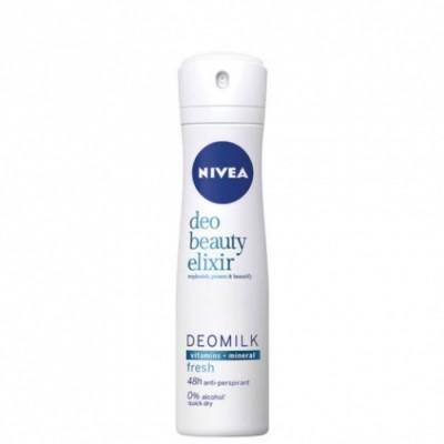 Nivea DeoMilk Beauty Elixir Fresh