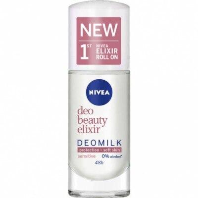 Nivea Desodorante Beauty Elixir Deo Milk Sensitive