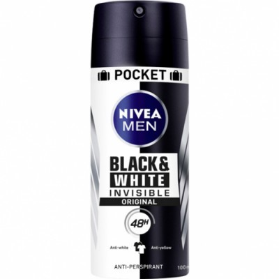 Nivea Desodorante Black & White Invisible