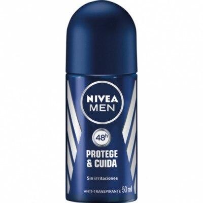 Nivea Desodorante Roll On For Men Protege Y Cuida