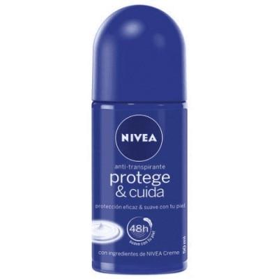 Nivea Desodorante Roll On Protege Y Cuida