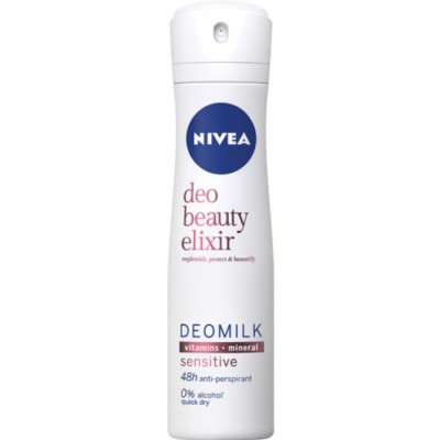 Nivea Desodorizante Beauty Elixir Sensitive Spray